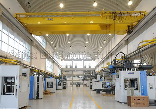 Safex Electric overhead travelling cranes