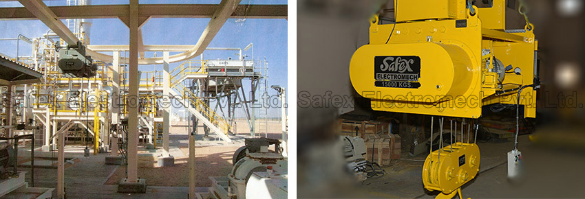 Safex Cranes Hoists Manufacturer India, Custom Design