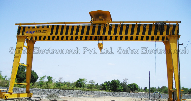 Goliath Cranes, Semi Goliath Cranes, Safex Cranes Hoists Manufacturer India, Safex Electromech