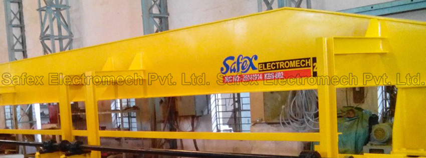 Hand Operated Overhead Travelling Cranes, HOT Cranes, Manufacturer India, Safex Electromech