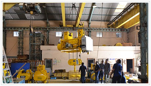 Safex Cranes Hoists Manufacturer India, Flame Proof Cranes