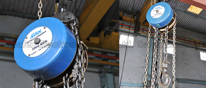 Safex Chain Pulley Blocks Manufacturer India